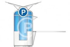 Parking kiosk sa rampom 01