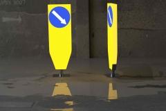 Saobraćajni znakovi sa unutrašnjim osvetljenjem 13