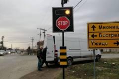 Saobraćajni znakovi sa unutrašnjim osvetljenjem 30