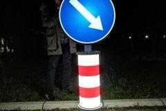 Saobraćajni znakovi sa unutrašnjim osvetljenjem 18