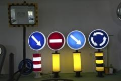 Saobraćajni znakovi sa unutrašnjim osvetljenjem 35
