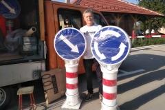 Saobraćajni znakovi sa unutrašnjim osvetljenjem 46