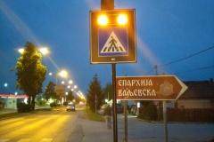 Saobraćajni znakovi sa unutrašnjim osvetljenjem 52