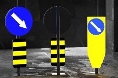 Saobraćajni znakovi sa unutrašnjim osvetljenjem 01