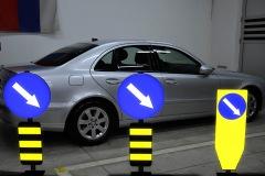 Saobraćajni znakovi sa unutrašnjim osvetljenjem 02