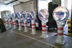 Saobraćajni znakovi sa unutrašnjim osvetljenjem 54