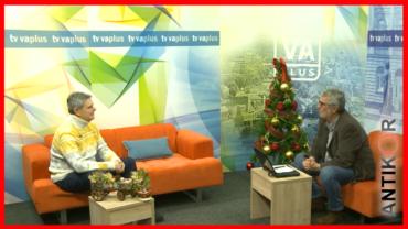 Gostovanje na jutarnjem programu Televizije Valjevo Plus – Vojkan Adamović – ANTIKOR VALJEVO